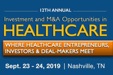 12th Annual Investment and M&A Opportunities in HEALTHCARE